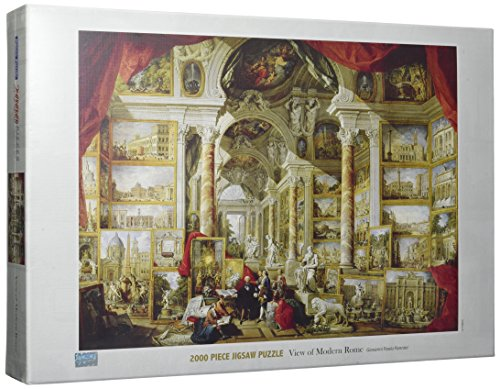 Tomax View of Modern Rome 2000 Piece Giovanni Paolo Pannini Jigsaw Puzzle