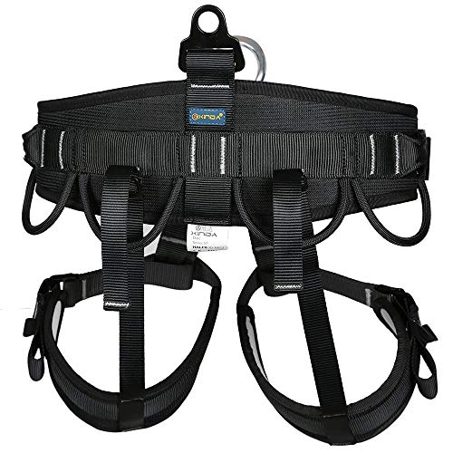 Amazon Com Outdoor Climbing Harness Half Body Harness Safe Seat