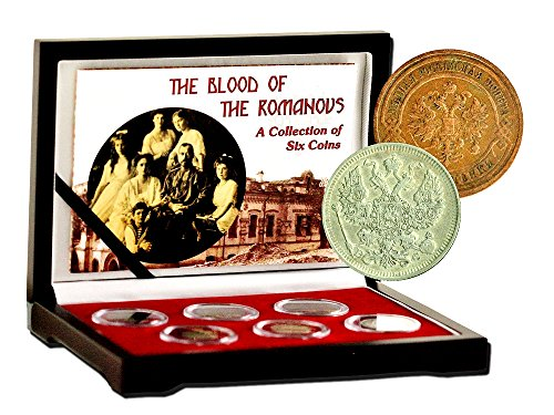 (1 Blood of the Romanovs,A Collection of Six Coins,Boxed,Certificate & Story Card. Very Good)