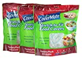 3 X Covermate Stretch-to-fit Food Covers 3 pack