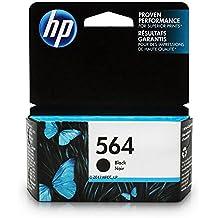 HP 564 Black Ink Cartridge (CB316WN) for HP Deskjet 3520 3521 3522 3526 Officejet 4610 4620 4622 Photosmart 5510 5514 5515 5520 5525 6510 6512 6515 6520 6525 7510 7515 7520 7525 B8550 C6340 C6350…