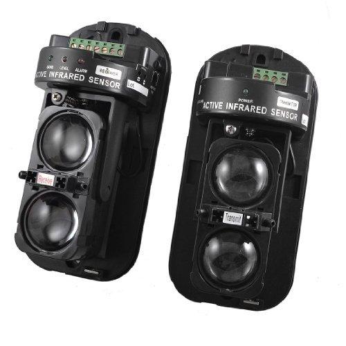 Outdoor 100m Double Beam Security Active IR Detector ABT-100 Ir Beam Sensors