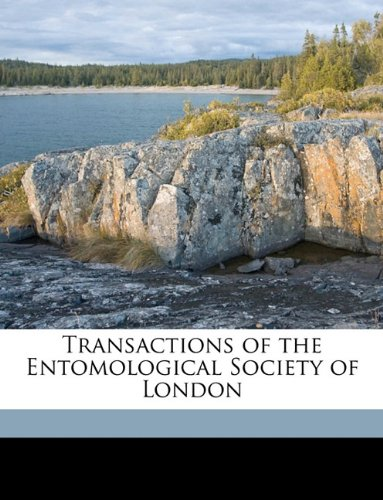 Read Online Transactions of the Entomological Society of London Volume 1890 ebook