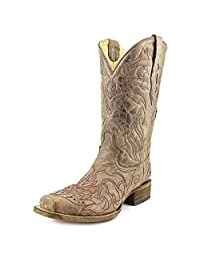 Corral A2837 Women US 10 Brown Western Boot