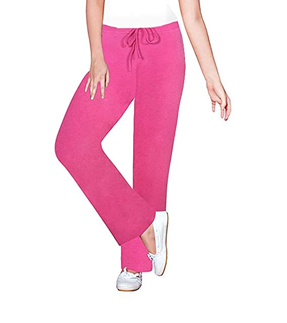 24db12651 MUKHAKSH Women Ladies Girls Kids Pink Hosiery Cotton Pyjama Bottom ...