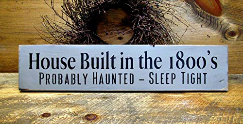 wonbye Wooden Sign, Halloween Decor, Funny Fall Sign,