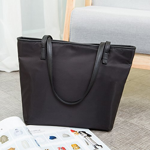 La Polyester Bags Large Shoulder Black Extra Totes Designer Gracery Women Nylon Fashion rAwnxX61rq