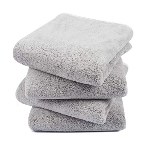 KinHwa Bathroom Hand Towels Absorbent Gym Towels Luxury Soft Face Towel Lightweight Microfiber Wash Towels Ideal for…