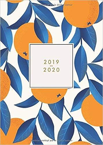 2019 - 2020: Agenda journalier 2019/20 - 18 mois - juillet ...