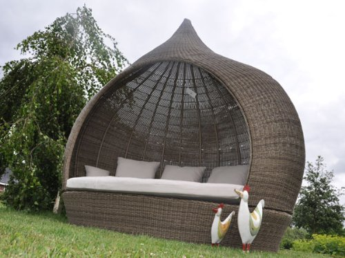 Rattan sonneninsel  Amazon.de: Sonneninsel Liegensel Poly Rattan Eyecatcher XXL CUBU