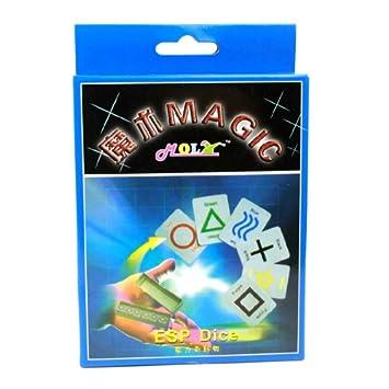 Amazon.com: BestOfferBuy Esp dados tarjeta truco de magia ...