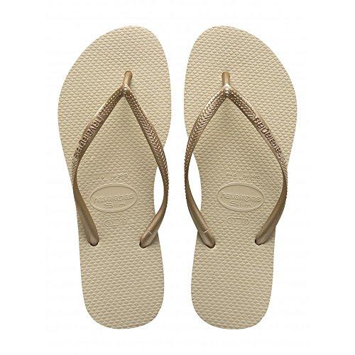 Havaianas Ende Gold Flip Flops
