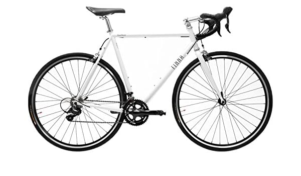 Finna Cycles Road Racer Bicicleta, Unisex Adulto, Blanco (Pearl ...