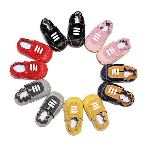 NUWFOR Infant Baby Girl Beach Leather Rome Straps Sole Summer Sandal First Walker Shoes White