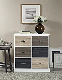 altra 6 door storage multi color wood cabinet door fronts accent table kids teens furniture amazoncom altra furniture ryder apothecary