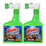 Windex Outdoor Glass and Patio Concentrated Cleaner, 32 Ounce, Pack of 2 (Packaging May Vary) (Pack of 4)