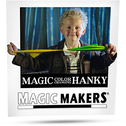 Magic Color Changing Hanky by Magic Makers - Easy to Perform Visual Illusion