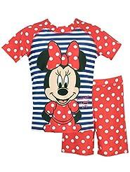 Disney Girls' Minnie Mouse Two Piece Swi...