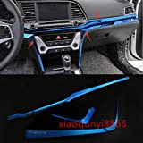 FidgetKute Center Console Stainless Strip Decorative Frame Fit 2017-18