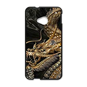 SKULL Unque magical dragon Cell Phone Case for HTC One M7
