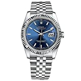 Kyпить Rolex Datejust 36 Stainless Steel Blue Dial Jubilee 116234 на Amazon.com