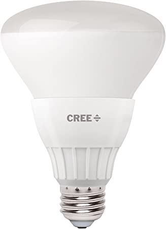 Cree 65w Equivalent Soft White 2700k Br30 Dimmable 9w Led Flood Light Bulb Single Pack
