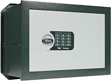 viro 1.4375.20 Caja Fuerte electrónica privacidad, Versión empotrable, 290 x 410 x 205 mm: Amazon.es: Bricolaje y herramientas