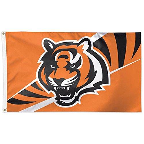 - NFL Cincinnati Bengals Deluxe Flag, 3' x 5'