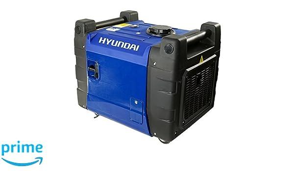 Hyundai Hy5600Sei - Generador Gasolina Inverter 3.000 RPM: Amazon.es ...