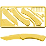Klecker Knives TG-13 YEL Klecker Trigger Knife Kit Yellow