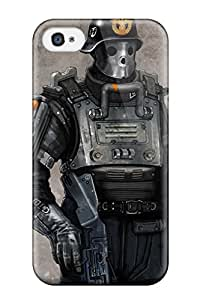 Shock-dirt Proof Wolfenstein The New Order Case Cover For Iphone 4/4s