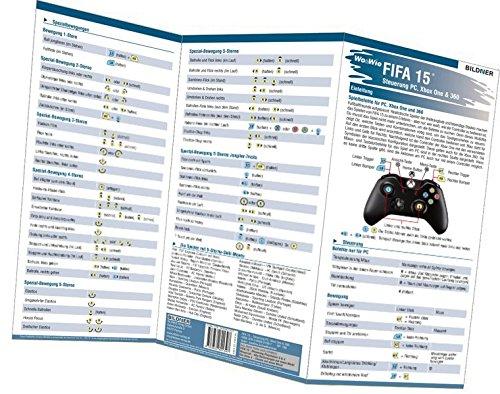 FIFA 15 - Alle 133 Spielersteuerungen groß auf einen Blick!: Für XBox 360, Xbox One und PC (Wo&Wie / Die schnelle Hilfe)