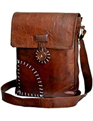 Jaald 13 Leather satchel messenger Bag Genuine Leather Messenger Bag school shoulder bag tote bag