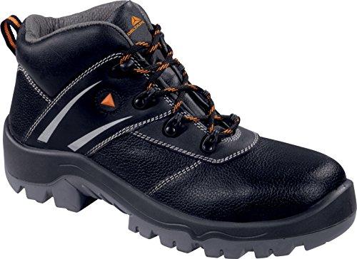 Deltaplus - Calzado de protección para hombre Negro - negro/naranja