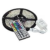 eBoTrade LED Strip Lights, RGB 5M/16.4 Ft Waterproof SMD 5050 300 LED Color ...