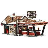 "Department 56 Original Snow Village Harley Big Tin Drive-In Light House, 5.12"""