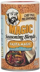 Magic Seasoning Fajita Magic, 5-Ounce Canisters (Pack of 6)