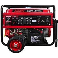 Gerador de Energia a Gasolina, 8 KVA, Monofásico Partida Elétrica - NG8100E