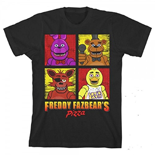 Five Nights at Freddy's Squares Boys Youth T-Shirt
