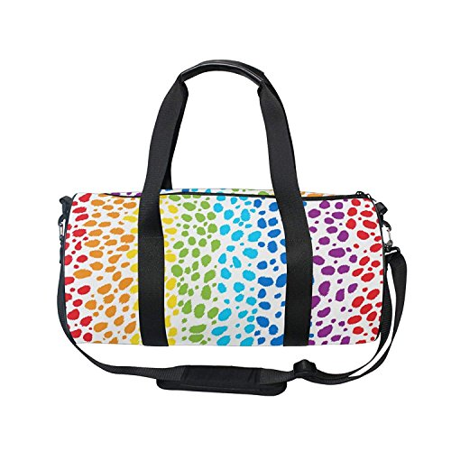 Traveling is Everything Print Sports Bag