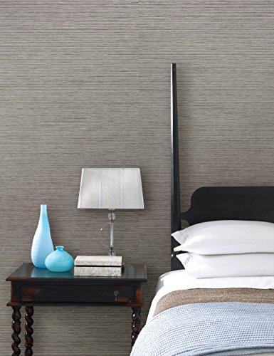 Kenxb #Kenneth James 2622-30225 Eva Grey Paper Weave Wallpaper,