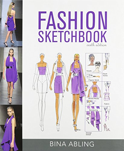 Fashion Sketchbook Sixth Edition by Bina Abling (1-Jun-2012) Spiral-bound (Fashion Sketchbook By Bina Abling 6th Edition)