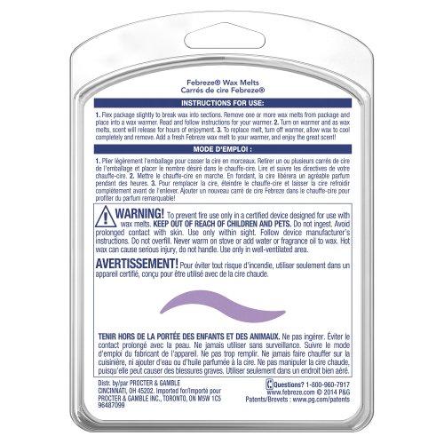 Review Febreze Wax Melts Mediterranean