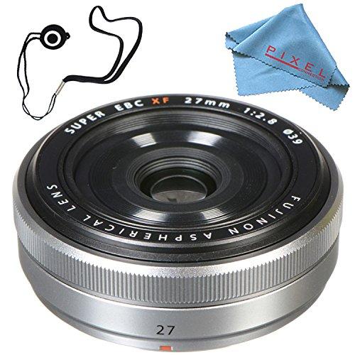 Fujifilm XF 27mm f/2.8 Lens  16401581 + Fibercloth + Lens Ca