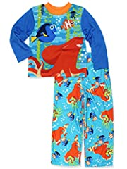 He'll be dreaming of deep sea diving at night in this two piece Finding Dory pajama set from Disney.