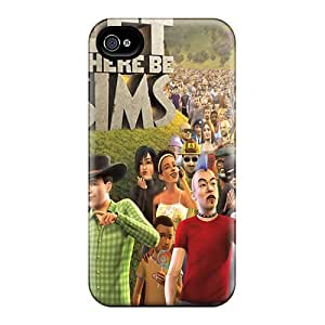 New Style AnnetteL Let There Be Sims Premium Tpu Cover Case For Iphone 4/4s
