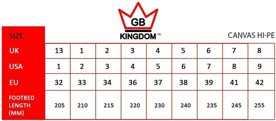 Kingdom GB Hi-PE Quad Tela Pattini a rotelle