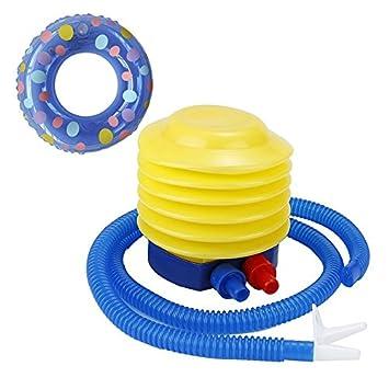 TOOGOO bomba de aire para inflado juguetes y globos bomba compresor gas bomba de pie para partido decoracion bano anillo inflable: Amazon.es: Deportes y ...