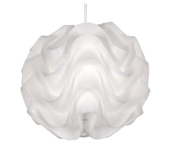 Oaks lighting akari sculptured pendant shade white amazon oaks lighting akari sculptured pendant shade white aloadofball Gallery