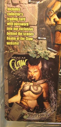 Stan Winston Creatures 2001 Realm of the Claw  Zynda  Action Figure